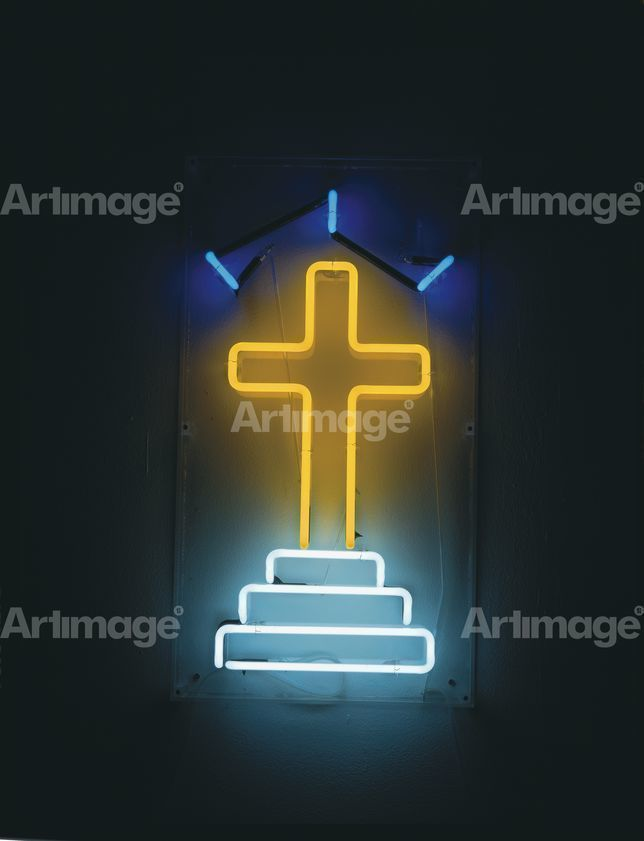 Enlarged version of A Cross, 2002