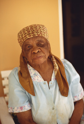 Portrait of Alvera Coke (AKA Mama Tosh), 2007 By Graham Fagen