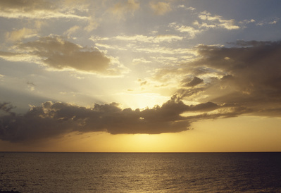 East Coast Looking East (Caribbean), 2007 By Graham Fagen