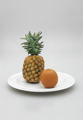Pineapple and Orange, 2005 By Graham Fagen