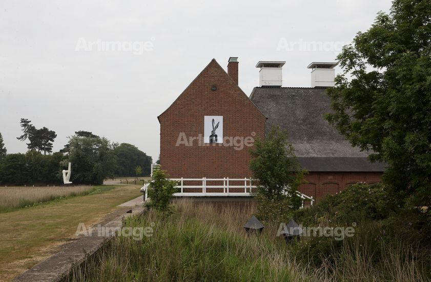 Enlarged version of Nature's Way at 'SNAP', Snape Maltings, Suffolk, 2011