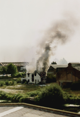 Smoking House, 2005 By Abigail Lane