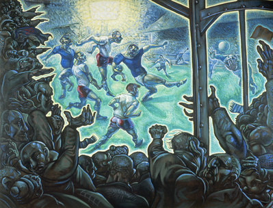 Just Another Bloody Saturday, 1987 By Peter Howson