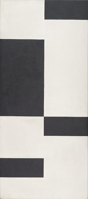 Orthogonal Composition, 1953-54 By Anthony Hill