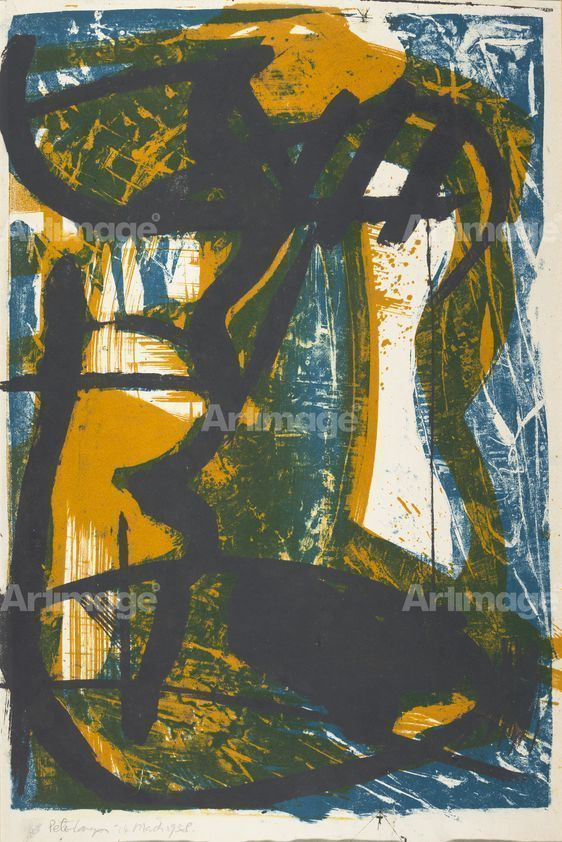 Enlarged version of Untitled, 1958