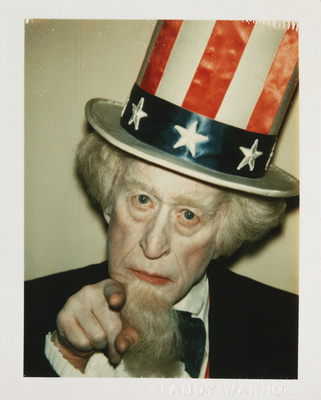 Uncle Sam (James Mahoney), from Myths, 1981