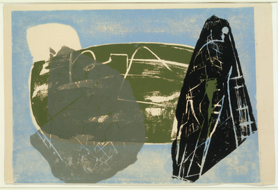 Landscape of Stone Leaves, 1952 By Peter Lanyon