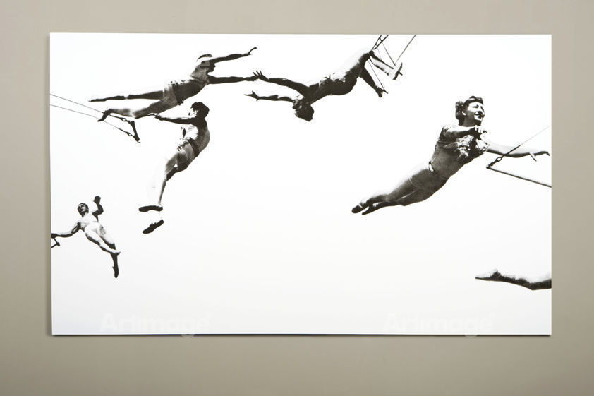 Enlarged version of Trapeze (large), 2008, part of 'For Your Pleasure' at Matches