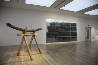 Installation view of 'New Perspectives: Landscape Art in Wal...