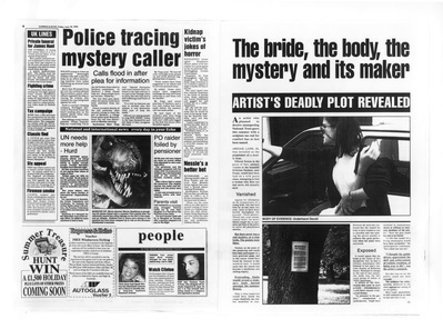 The Bride the Body the Mystery and it's Maker: Newspaper 199...