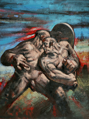 Megiddo, 1994 By Peter Howson