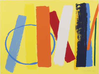 Summer (Yellow), 1999 By Wilhelmina Barns-Graham