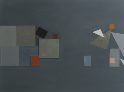 Constructed painting No.10 , 1987