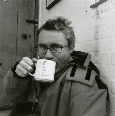 Damien Hirst, Norfolk, 2000 By Johnnie Shand Kydd