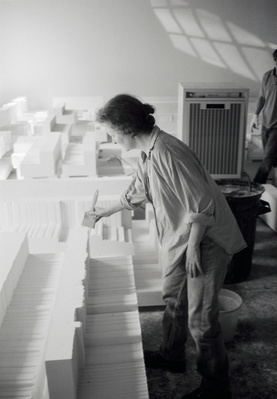 Rachel Whiteread, Studio, London, 1997 By Johnnie Shand Kydd