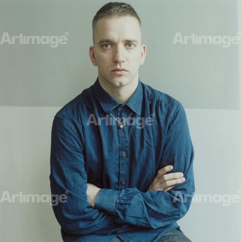 Enlarged version of Eddie Peake, London, 2013