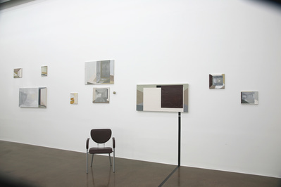 Yet (installation view 1), 2008