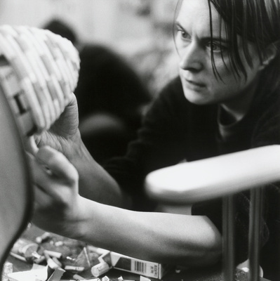 Sarah Lucas, Studio, Clerkenwell, London, 2000