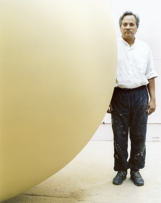 Anish Kapoor, Studio, London, 2002 By Johnnie Shand Kydd