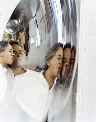 Anish Kapoor, Studio, London, 2002