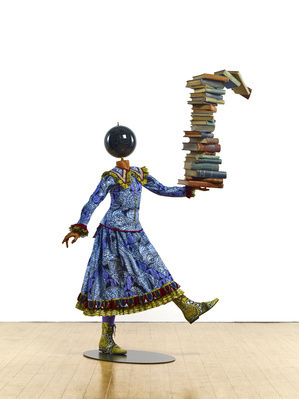 Girl Balancing Knowledge, 2015 By Yinka Shonibare MBE