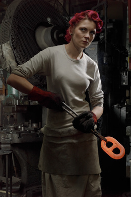 Woman Chainmaker, Cradley, West Midlands, 2010