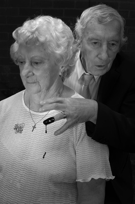 Auntie Else & Uncle Fred, Stourbridge, West Midlands, 2010