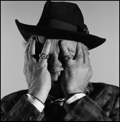 George Melly, Musician and TV personality, Rotherhithe, Lond... By Brian Griffin