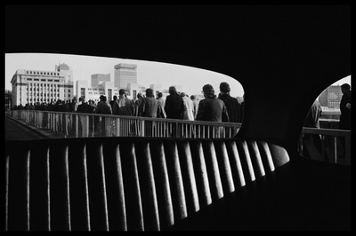 Rush Hour, London Bridge, 1974