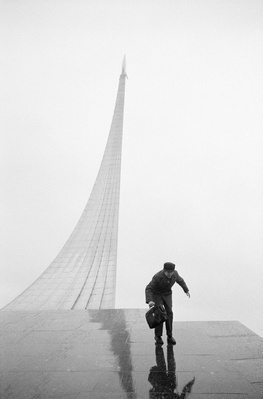 Memorial, Museum of Cosmonautics, Moscow, 1974