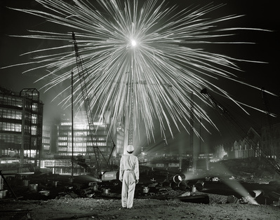 Big Bang, Broadgate, London, 1986 By Brian Griffin