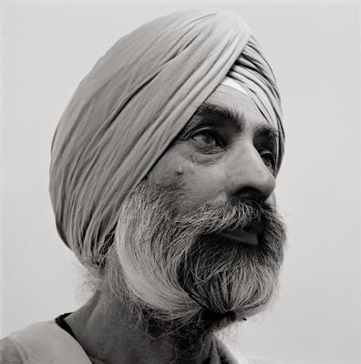 Surjit Singh, Bricklayer, St. Pancras, London, 2006