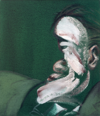 Three Studies for a Self-Portrait, 1967 (right panel) By Francis Bacon