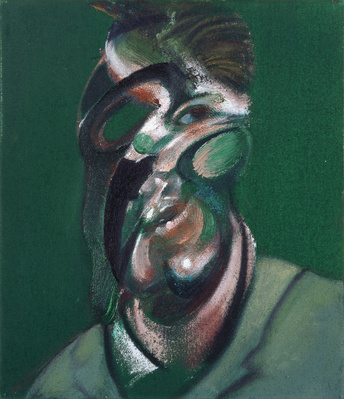 Three Studies for a Self-Portrait, 1967 (centre panel) By Francis Bacon