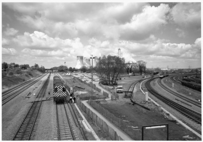 Didcot Junction, Oxfordshire, 1985