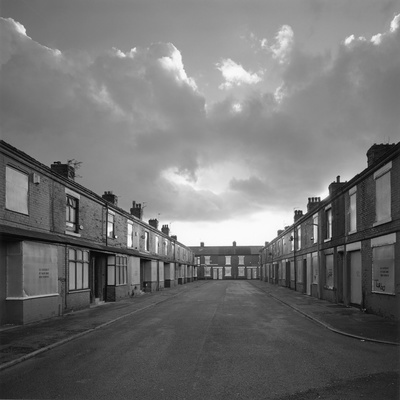 Terrace clearance, Salford, 2009