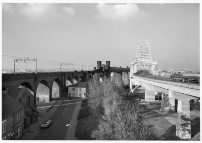 Runcorn Bridges, Cheshire, 1986