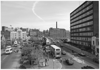 Mersey Square, Stockport, 1986