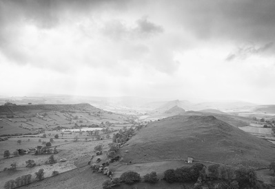 Alderley Cliff towards, Chrome Hill, Derbyshire, 1985