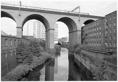 Stockport Viaduct, Stockport, 1986