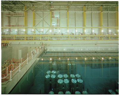 Thorp Plant pool rounds, Sellafield (BNFL), Cumbria, 1998