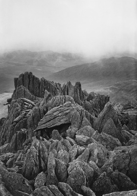 Castle of winds, Snowdonia, N.Wales, 1973 By John Davies