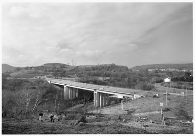 Quakers Yard Bridge, Merthyr Tidfil, 1996