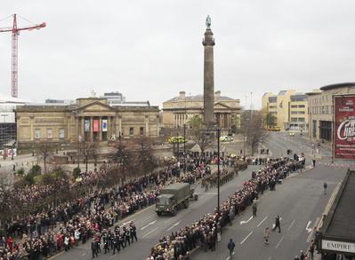 'Empire', Wellington's Column, Remembrance Sunday, Liverpool... By John Davies
