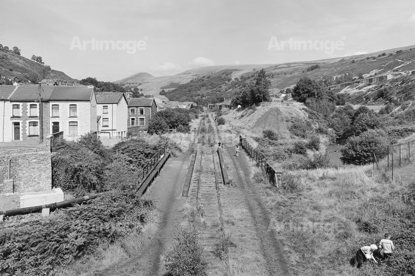 Enlarged version of Taff Vale Railway, Rhondda Fach, 1993