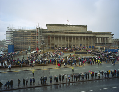 Cenetaph, St. George's Hall, Liverpool, 2002