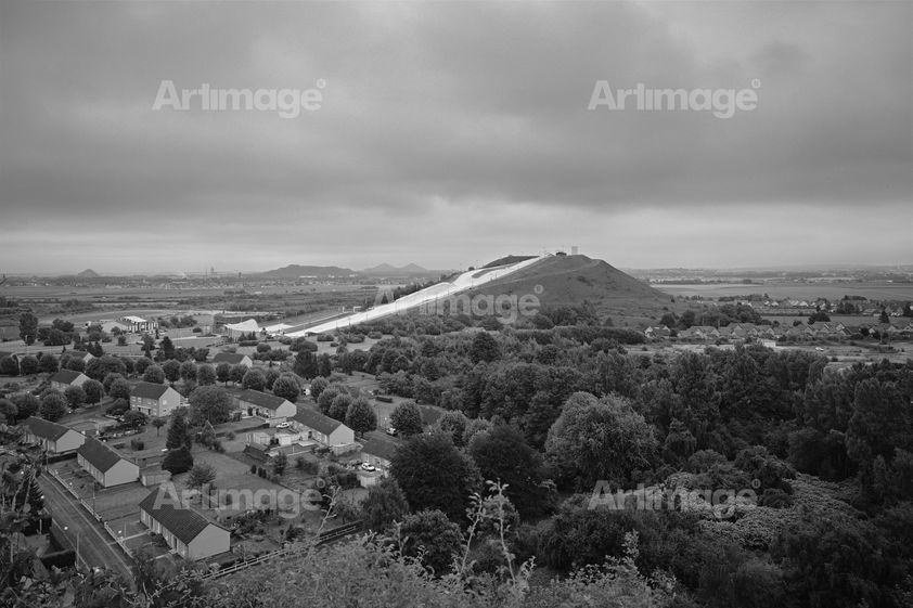 Enlarged version of Ski slope Terril, Noeux-les-Mines, France, 2014