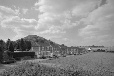 Miner's houses & Terril, Haillicourt, France, 2014