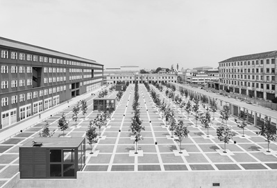 New University & Perrelli Factory, Milan, Italy, 1999