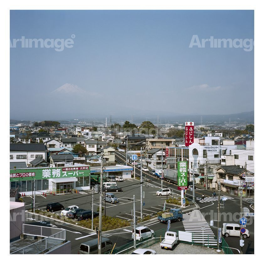 Enlarged version of Mt. Fuji, Fuji City 68, Japan, 2008